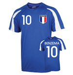 France Sports Training Jersey (benzema 10) - Kids