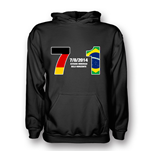 Germany 7 Brazil 1 Hoody (black) - Kids