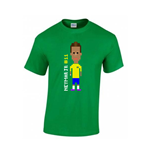 Neymar Player T-shirt (green) - Kids