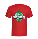 Portugal Country Logo T-shirt (red)