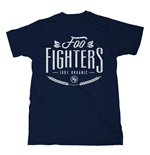 Foo Fighters T-shirt 100% Organic