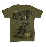 Paramore T-shirt Minefield (GREEN)