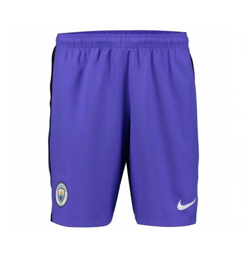 2016-2017 Man City Third Nike Football Shorts (Kids)