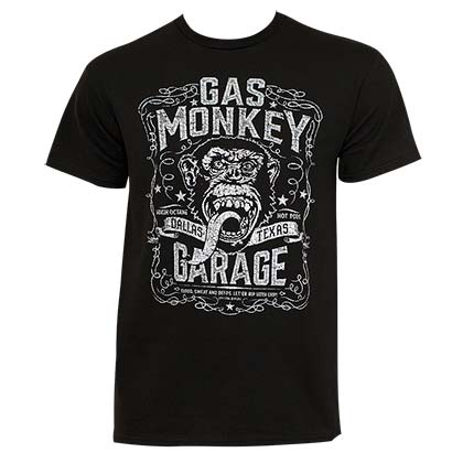 Gas monkey garage dallas texas tee shirt for only for Texas tee shirt company