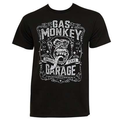 gas monkey garage t shirts official merchandise 2016 17. Black Bedroom Furniture Sets. Home Design Ideas