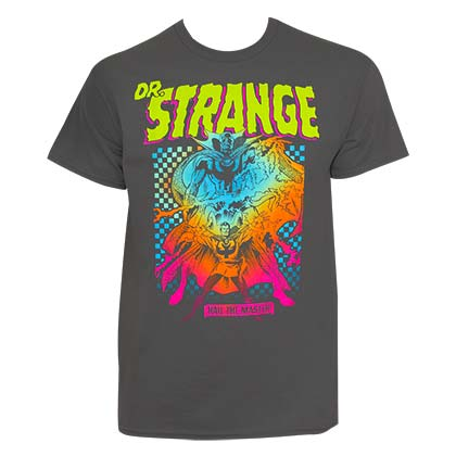 DR. STRANGE Hail The Master Tee Shirt