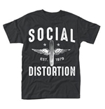 Social Distortion T-shirt Winged Wheel