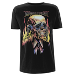 Megadeth T-shirt Flaming Vic