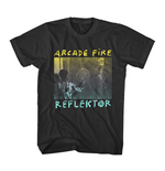 Arcade Fire T-shirt Black Reflektor