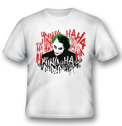 Batman T-shirt JOKER'S Laugh