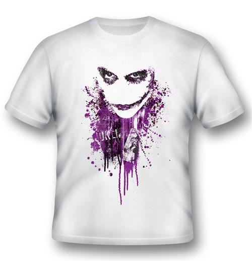 Batman T-shirt Joker Purple