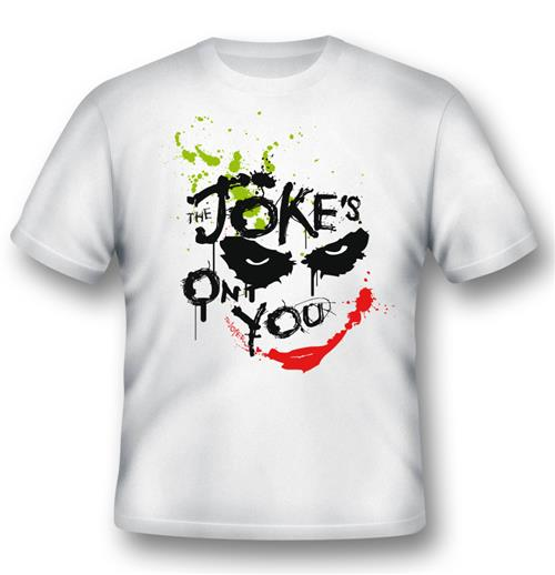 Batman T-shirt Joker Jokes On You