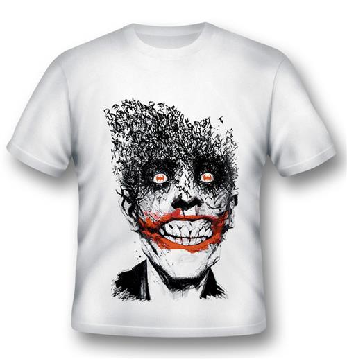 Official Batman T-shirt Joker By Jock: Buy Online On Offer
