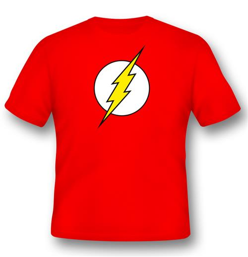 Flash T-shirt Logo Classic For Only £ 17.69 At