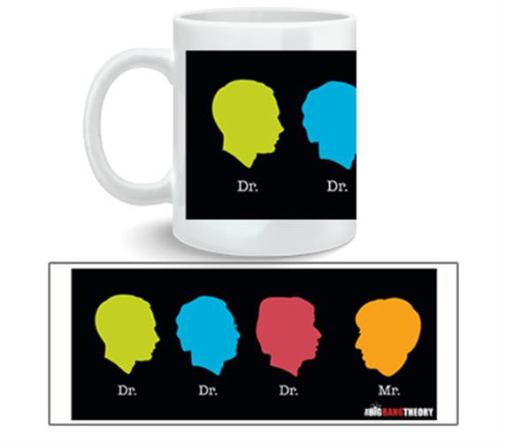 Big Bang Theory Mug Dr Dr Dr Mr