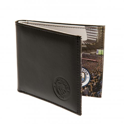 Manchester City F.C. Leather Wallet 801