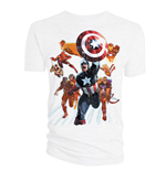 Marvel Comics T-Shirt Avengers Cover