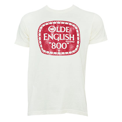 OLDE ENGLISH Off White Tee Shirt