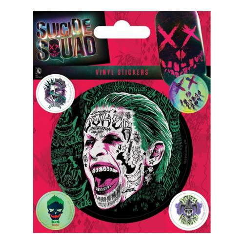Suicide Squad Stickers Joker