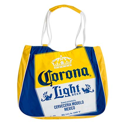 Corona Light Insulated Yellow Tote Bag