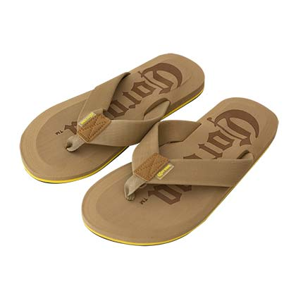 CORONA EXTRA Men's Brown Flip Flops