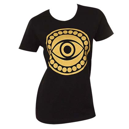 Doctor Strange Eye Logo Juniors Tee Shirt