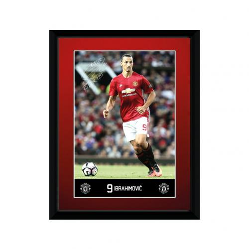 Manchester United F.C. Picture Ibrahimovic 8 x 6
