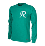 Rapid Wien 1956/57 Long Sleeve Retro Football Shirt 100% cotton