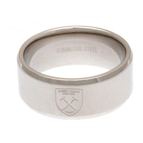 West Ham United F.C. Band Ring Large