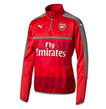 2016-2017 Arsenal Puma Half Zip Training Top (Red) - Kids