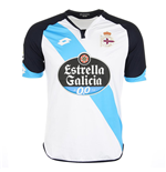 2016-2017 Deportivo La Coruna Lotto Away Football Shirt