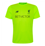 2016-2017 Liverpool Pro Pre-Match Training Shirt (Toxic)