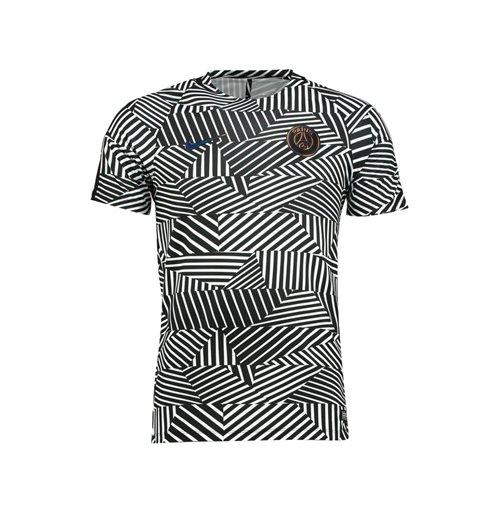 buy 2016 2017 psg nike pre match training shirt white black. Black Bedroom Furniture Sets. Home Design Ideas
