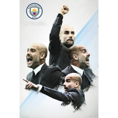 Manchester City F.C. Poster Guardiola 30