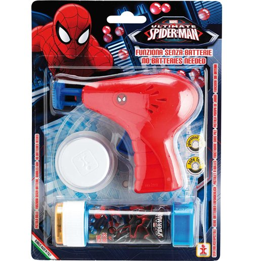 Spiderman Bubble Gun