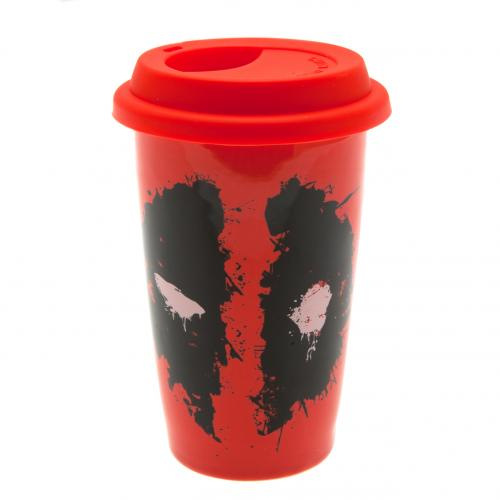 Deadpool Ceramic Travel Mug