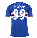 2016-17 Sampdoria Home Shirt (Cassano 99) - Kids