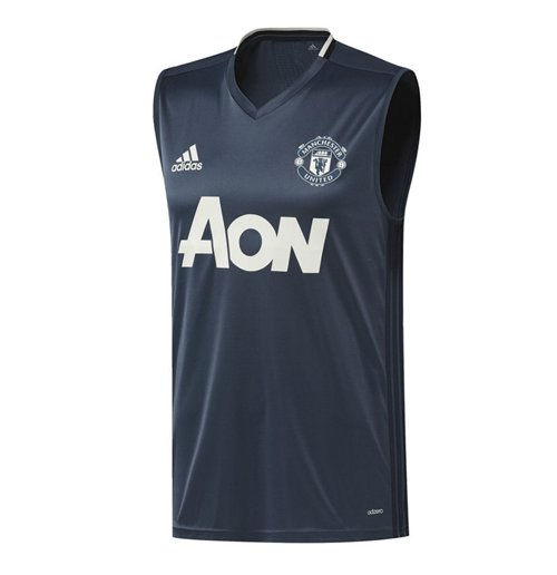Buy 2016 2017 Man Utd Adidas Sleeveless Shirt Mineral