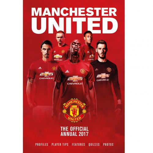 Manchester United F C Annual 2017 For Only 163 10 89 At