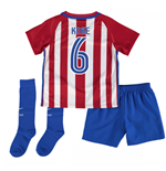 2016-17 Atletico Madrid Home Baby Kit (Koke 6)
