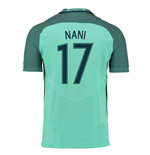 2016-17 Portugal Away Shirt (Nani 17) - Kids