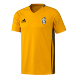 2016-2017 Juventus Adidas Training Tee (Gold)