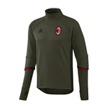 2016-2017 AC Milan Adidas Training Top (Night Cargo) - Kids