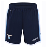 2016-2017 Lazio Macron Away Shorts (Navy)