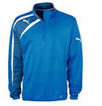 Puma Spirit Half Zip Training Top (blue) - Kids