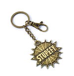 Fantastic Beasts Keychain Stupefy (antique brass plated)