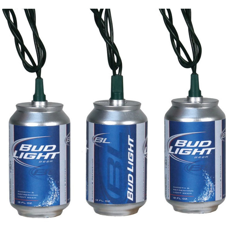 BUD LIGHT Can String Lights