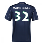 2016-17 Vfl Wolfsburg Third Kit (Mario Gomez 32) - Kids