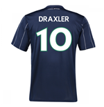 2016-17 Vfl Wolfsburg Third Kit (Draxler 10) - Kids