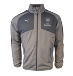 2016-2017 Arsenal Puma Casual Performance Woven Jacket (Grey)